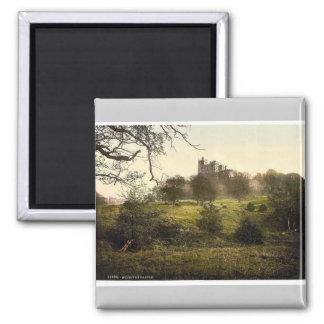 Bolsover Castle, Derbyshire, England rare Photochr Magnet