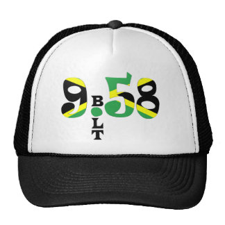 Bolt 9.58 WR Jamaican Flag Hat