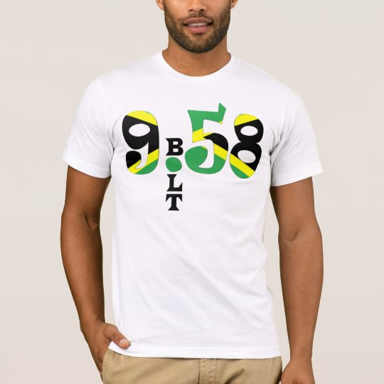 Bolt 9.58 WR Jamaican Flag T-shirt