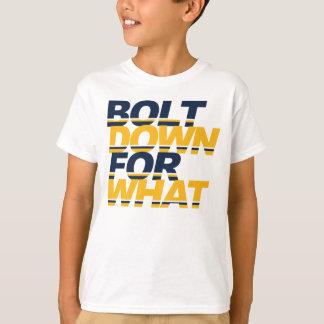 Bolt Down Kids Chargers Shirt