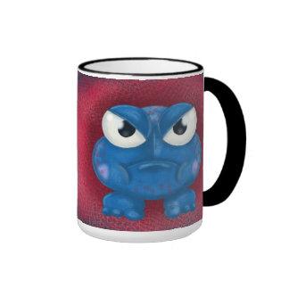 Bolt, the angry blue. ringer mug