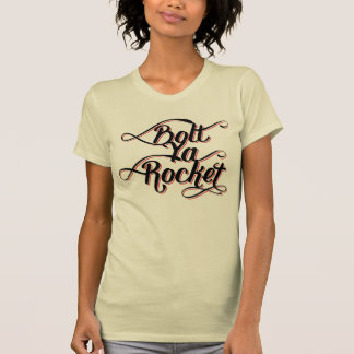 Bolt Ya Rocket Glaswegian Glasgow Tee