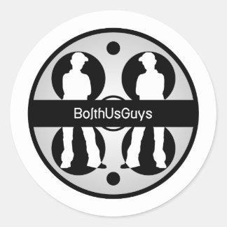 BolthUsGuys Logo02 Round Sticker