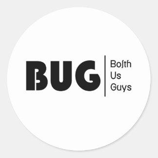 BolthUsGuys Logo03 Round Sticker