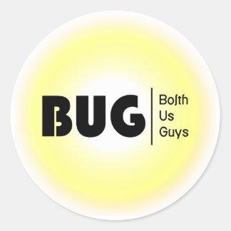 BolthUsGuys Logo04 Round Sticker