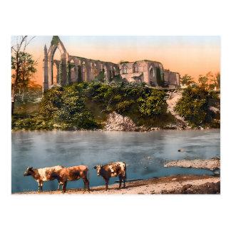 Bolton Abbey England 2015 Calendar Postcard