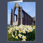 Bolton Abbey, Wharfedale, The Yorkshire Dales Greeting Card