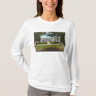Bolton Landing Exterior View of Sagamore Hotel T-Shirt