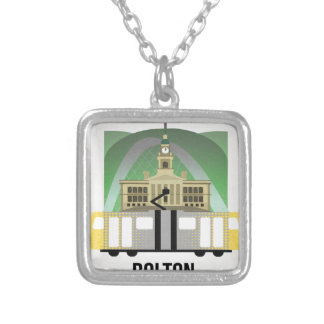 Bolton Silver Plated Necklace