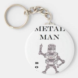 Bolts - Heavy Metal Man Key Ring