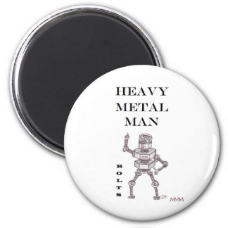 Bolts - Heavy Metal Man Magnet