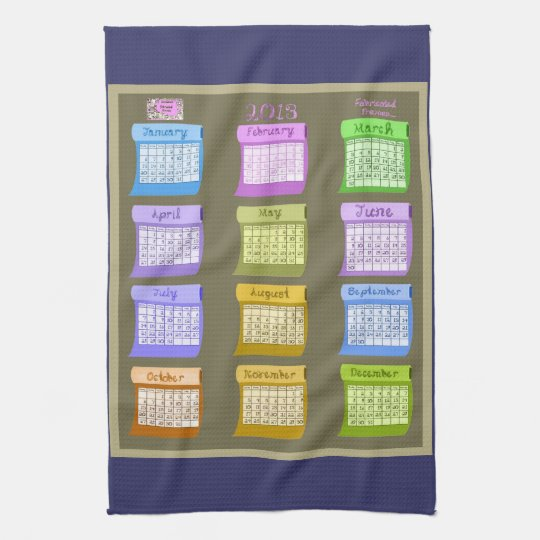 Bolts of Fabric tea kitchen towel 2013