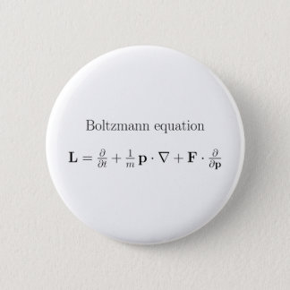 Boltzmann label.png 6 cm round badge