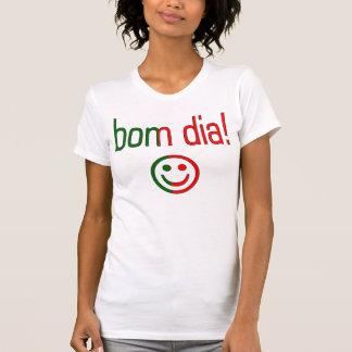 Bom Dia! Portugal Flag Colors T-Shirt