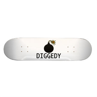 Bomb Diggedy Custom Skateboard