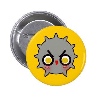 BOMB! (gray) 6 Cm Round Badge