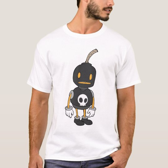 Bomb Guy - Black T-Shirt