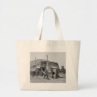 Bomb-Proof Quarters,1865 Jumbo Tote Bag