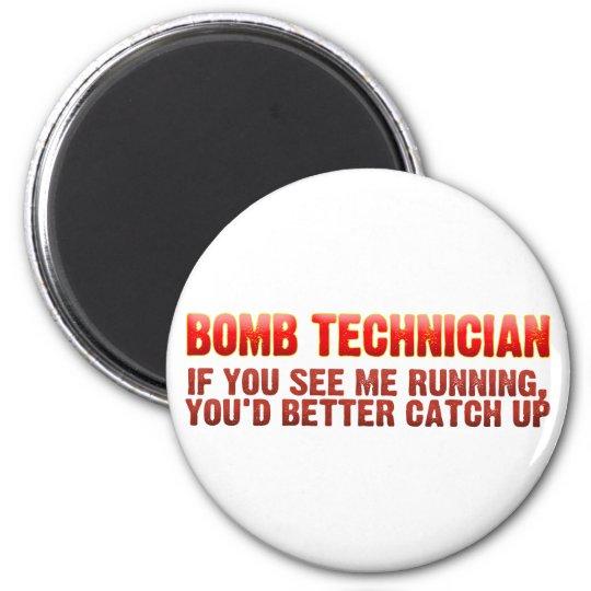 Bomb Tecnician Magnet