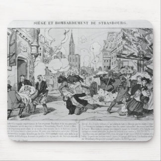 Bombardment and siege of Strasbourg Mouse Mat