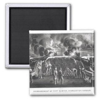 Bombardment of Fort Sumter, Charleston Harbour Magnet