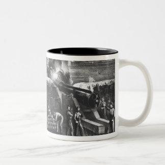 Bombardment of Fort Sumter, Charleston Harbour Two-Tone Coffee Mug