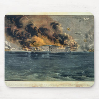 Bombardment of Fort Sumter Mouse Pad