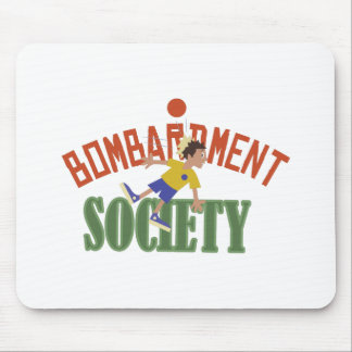 Bombardment Society Mouse Pad