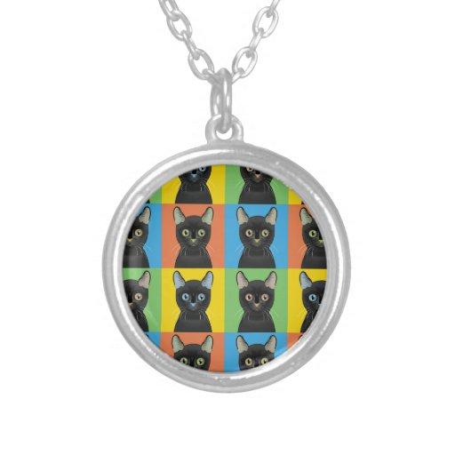 Bombay Cat Pop-Art Custom Jewelry
