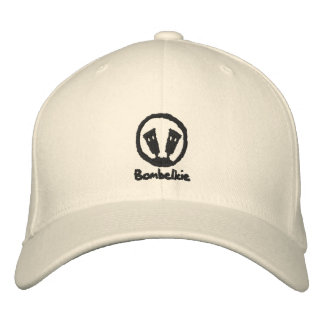 Bombelkie Embroidered Basic Flexfit Wool Cap Embroidered Baseball Cap