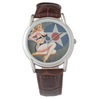 Bomber pin up watch