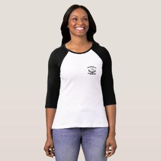 BombSquad Womens 3/4 sleeve Raglan T T-Shirt