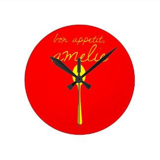 Bon appetit, Amelie Wallclock