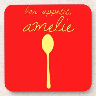 Bon appetit, Amelie Coasters