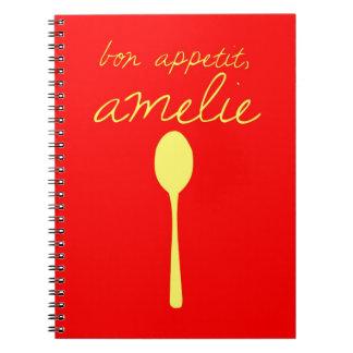 Bon appetit, Amelie Notebook