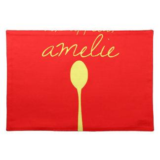 Bon appetit, Amelie Placemats