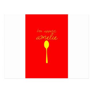 Bon appetit, Amelie Post Cards
