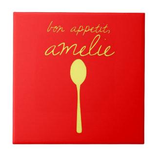 Bon appetit, Amelie Tile
