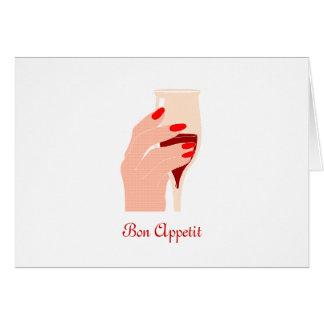 Bon Appetit Greeting Card