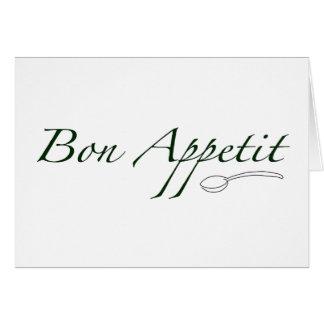 Bon Appetit Card