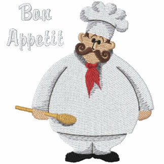 Bon Appetit Chef - Customize Embroidered Track Jackets