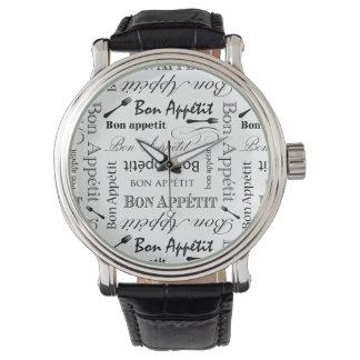 Bon Appetit Classic Pattern Watch
