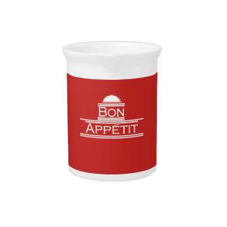 Bon Appetit-Enjoy Your Meal Pitcher