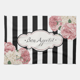 Bon Appetit, French Country Hand Towels
