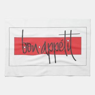 Bon appetit kitchen towel