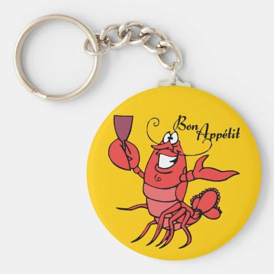 Bon Appetit Lobster Key Ring