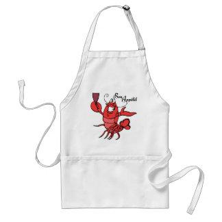 Bon Appetit Lobster Standard Apron