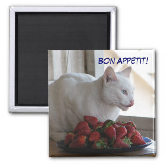 Bon Appetit Magnet! Square Magnet