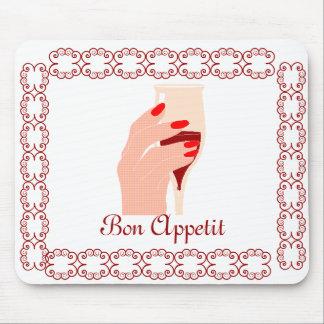 Bon Appetit Mouse Pad