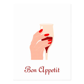 Bon Appetit Postcard